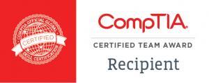 CompTIA Certified Team Badge